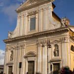 La facciata della basilica di S. Barnaba