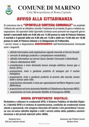 thumbnail of Comune manifesto