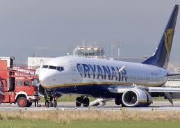 L'incidente Ryanair a Cimpaino