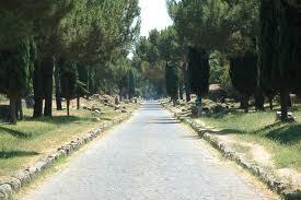 un tratto dell'Appia Antica