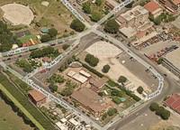 veduta aerea di piazzale dello sport [fote Bing]