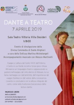thumbnail of locandina Dante a Teatro