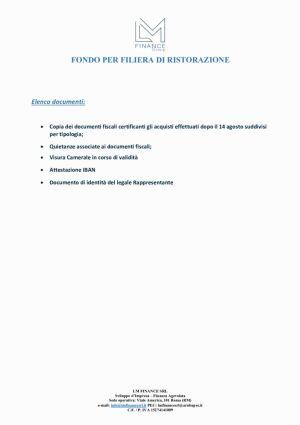 thumbnail of Elenco documenti fondo filiera di ristorazione (1)
