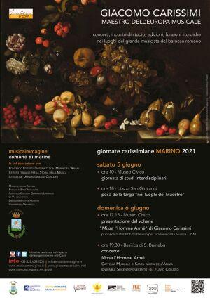 thumbnail of Locandina Giornate Carissimiane 2021